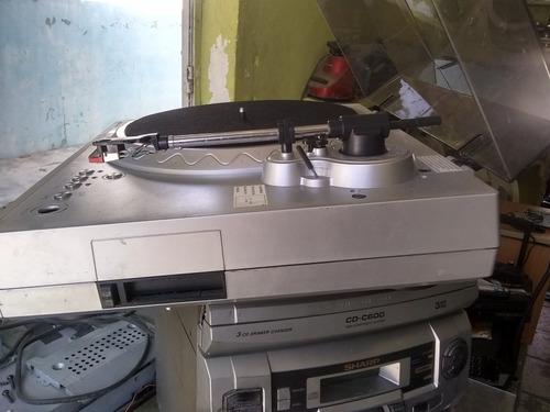 convertidor de disco lp y cinta a cd.