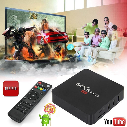 convertidor de led a smart tv box netflix series 4k full