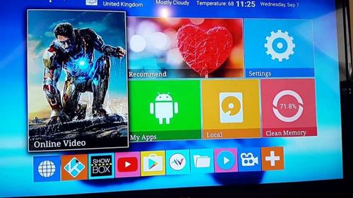 convertidor de led a smart tv box netflix series  envió