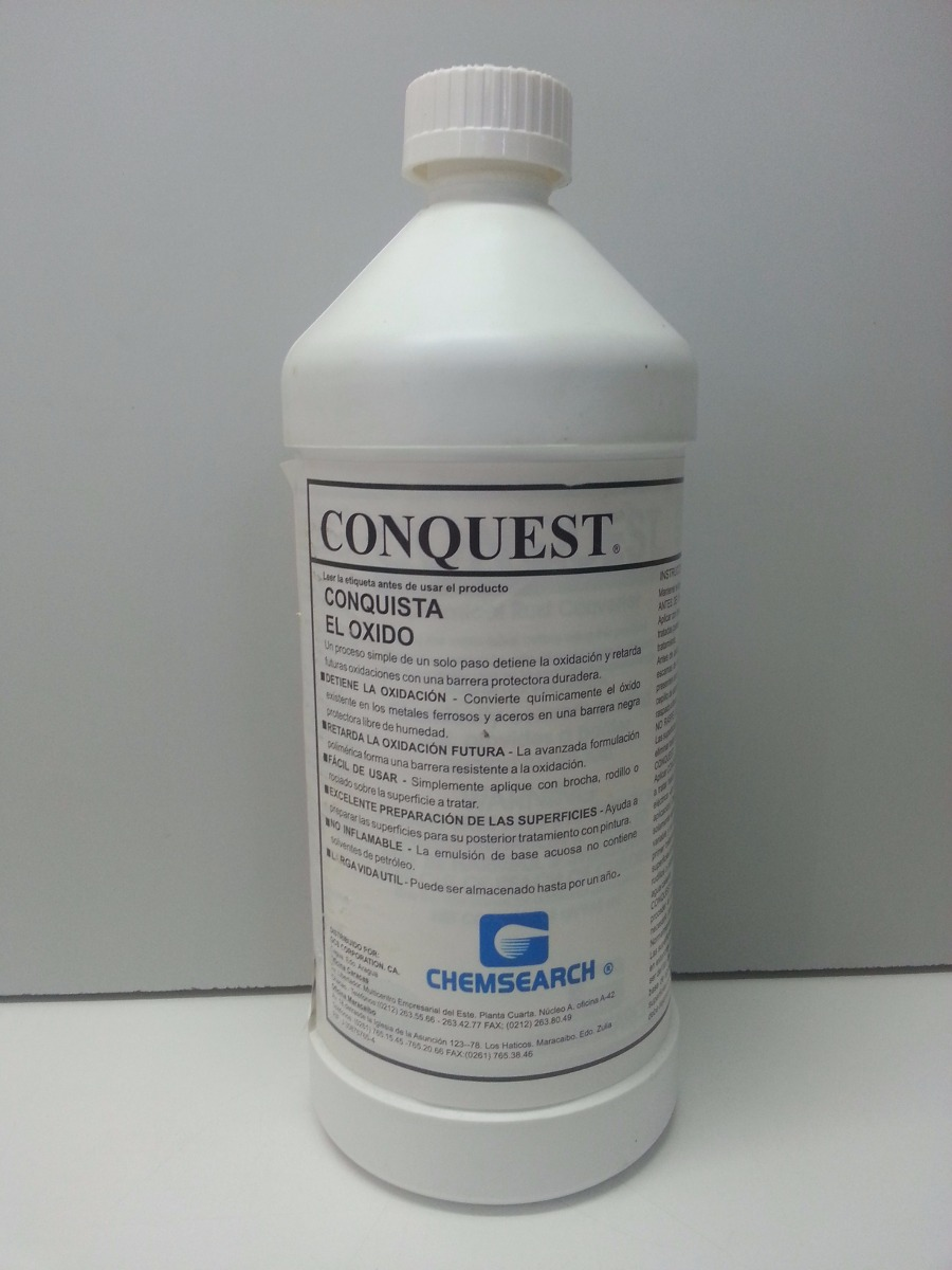 Convertidor de oxido conquest de chemsearch 12m2 lt bs - Convertidor de oxido ...