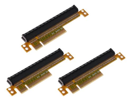 convertidor de pci-e x8 a x16 ranura accesorios de