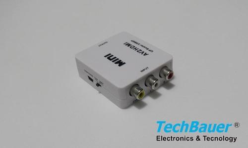 convertidor de rca a hdmi 1080p alta resolucion