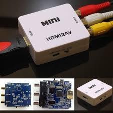 convertidor de rca a hdmi plug play