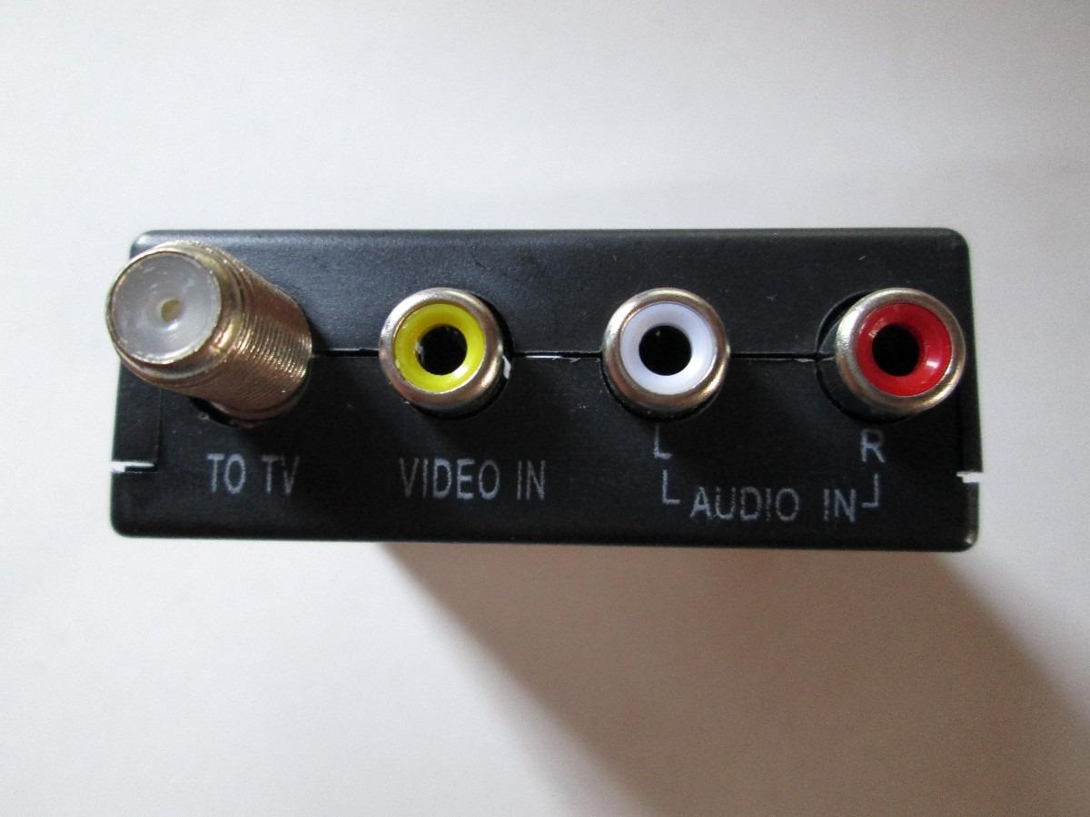 Convertidor De Rca Audio Video A Coaxial 275 00 En