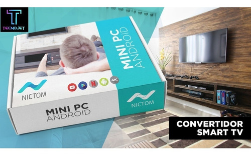 convertidor de smart tv. sistema android 7.1,  1gb/8gb