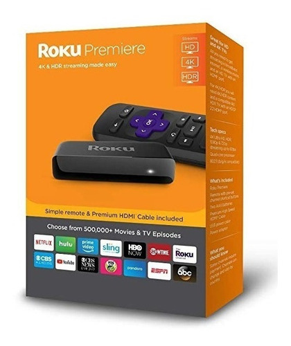 convertidor de tv a smart-tv roku premier 4k