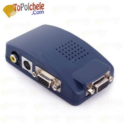 convertidor de video - pc a tv****entrega segura y rapida***