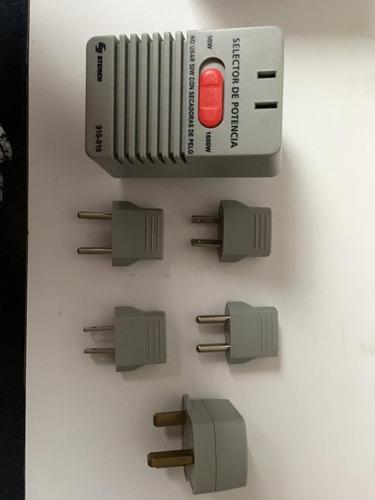 convertidor de voltaje de 220 v a 110 v marca steren