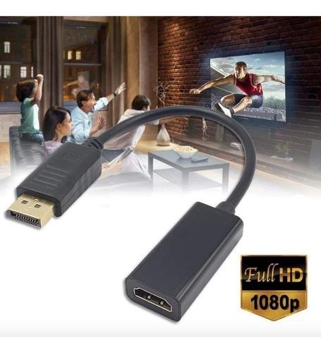 convertidor displayport a hdmi hd 1080p dp hdtv envio gratis