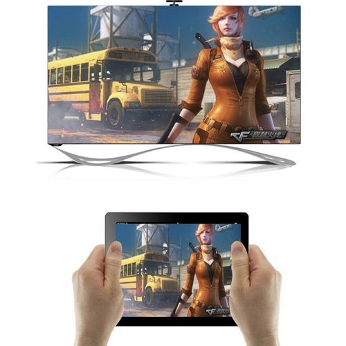 convertidor dongle smart android tv box celular netflix wifi