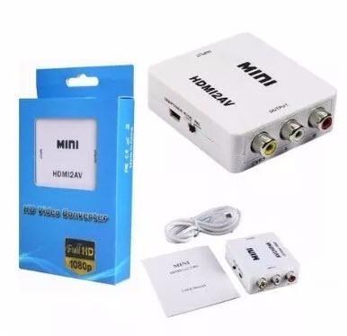 convertidor hdmi a rca,audio y video, adaptador hdmi,rca