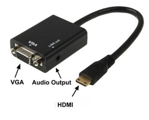 Convertidor hdmi a vga audio video en mercado libre for Adaptador enchufe mexico