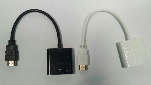 convertidor hdmi a vga full hd 1080, xbox,ps3,ps4