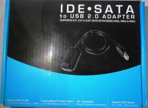 convertidor ide  sata gio usb 2.0 adaptador disco d