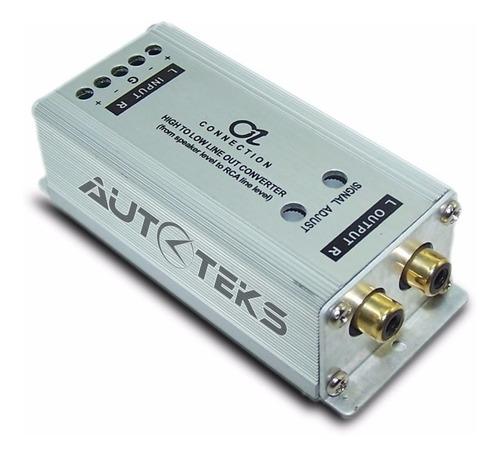 convertidor impedancia alta baja p/ amplificador oz-15
