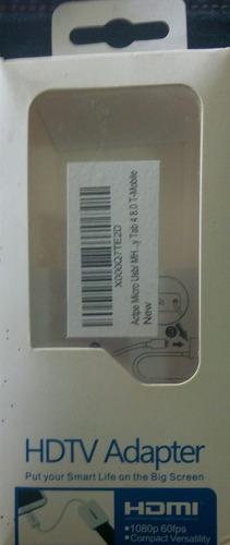 convertidor micro usb / hdmi