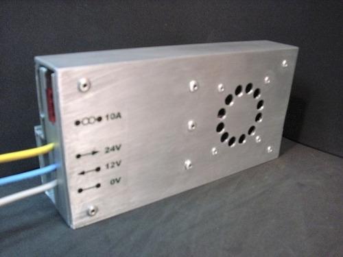 convertidor / regulador 24v a 12v dc-dc 10a