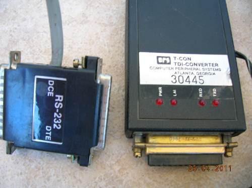 convertidor rs 232 tdi  / t con
