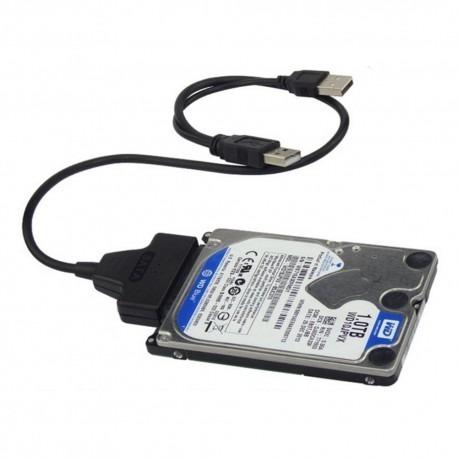 convertidor sata a usb 2.0 discos duros 2.5 adaptador