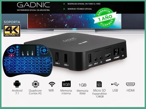 convertidor smart android tv box netflix series + control
