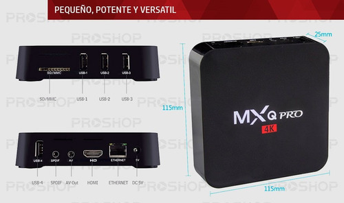 convertidor smart android tv box netflix youtube con teclado