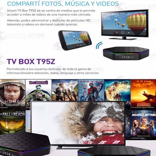 convertidor smart android tv box netflix youtube octacore hd