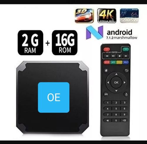convertidor smart tv 2gb ram 16gb rom android tv box