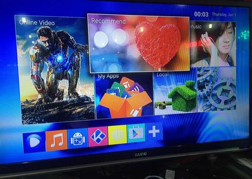 convertidor smart tv android tv box canales series peliculas