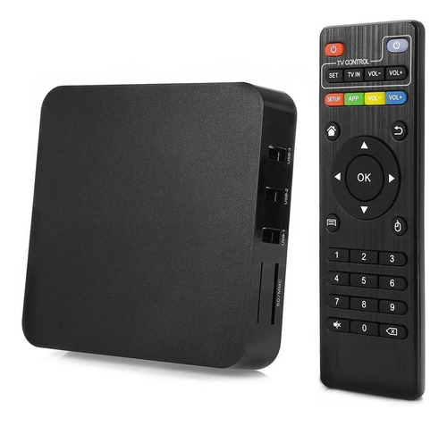 convertidor smart tv box android wifi google play netflix