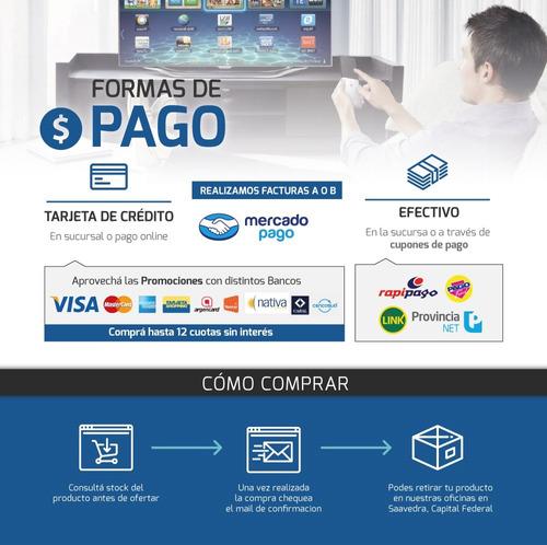 convertidor smart tv box mxq pro 4k netflix teclado + cuotas