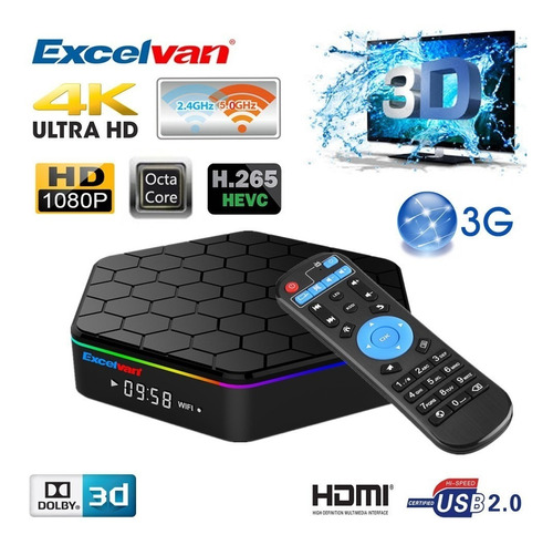 convertidor smart tv box t95 octacore 2gb y16gb disc teclado