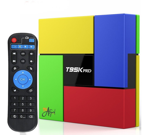 convertidor smart tv box t95k pro octacore 3gb 32gb bt wifi