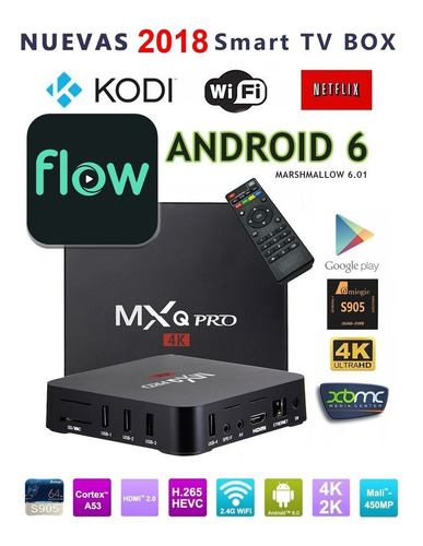 convertidor smart tv convertir tv box android 8gb wifi