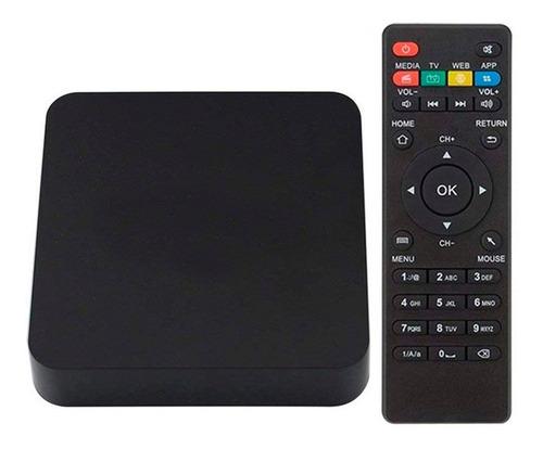 convertidor smart tv mini tv 8gb  core quad 4k android 6.0