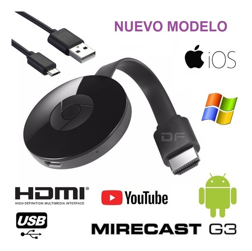 convertidor smart tv miracast g3 nuevo modelo mejorado!!!