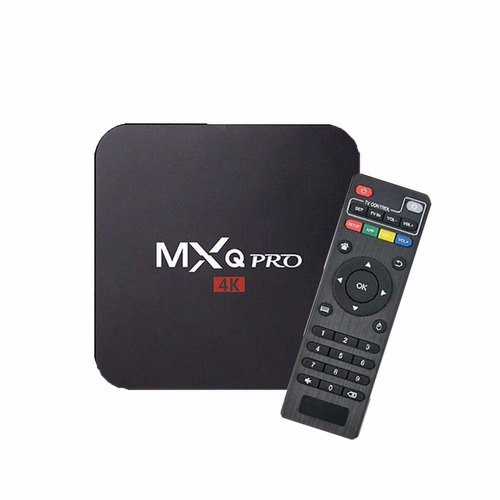 convertidor smart tv pc box mxq pro 4k wifi hdmi netflix