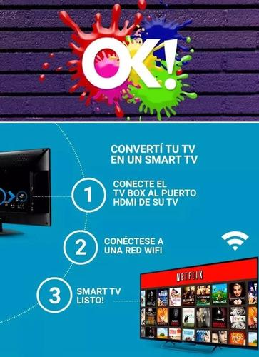 convertidor tv box android hdmi full hd led tv a smart tv