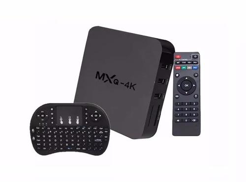 convertidor tv smart box android 6 mxq 4k hdmi + teclado
