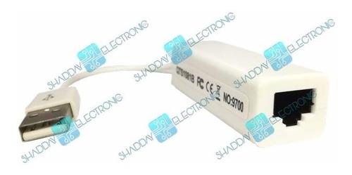 convertidor usb 2.0 a rj45 red ethernet lan  s- e