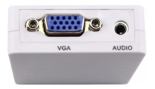 convertidor vga a hdmi 1080 p con audio