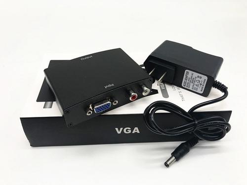 convertidor vga a hdmi con cable audio full hd excelente