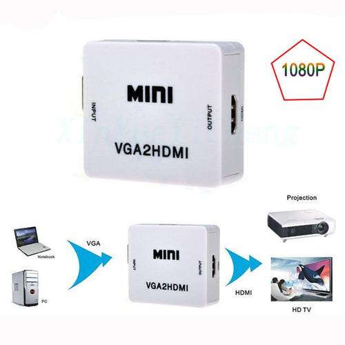 convertidor video vga a hdmi