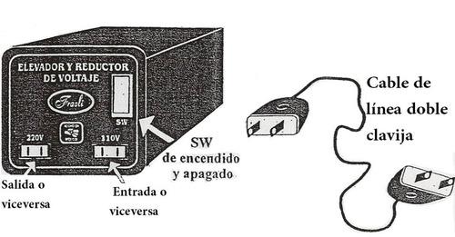 convertidor voltaje 110 220v 2500w elevador reductor voltaje