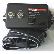 Amplificador De Señal Tv Phillips 12db Antena Satelite