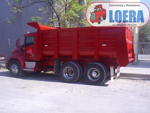 convertimos camiones a volteo de 14m, venta cajas de volteo