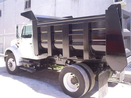 convertimos tu camion a volteo con caja de 7m