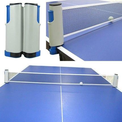 convierta cualquier mesa en una de ping pong red portatil