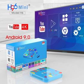 Convierte Smart Tv Box H96 Mini Android 9.0 4gb / 32gb