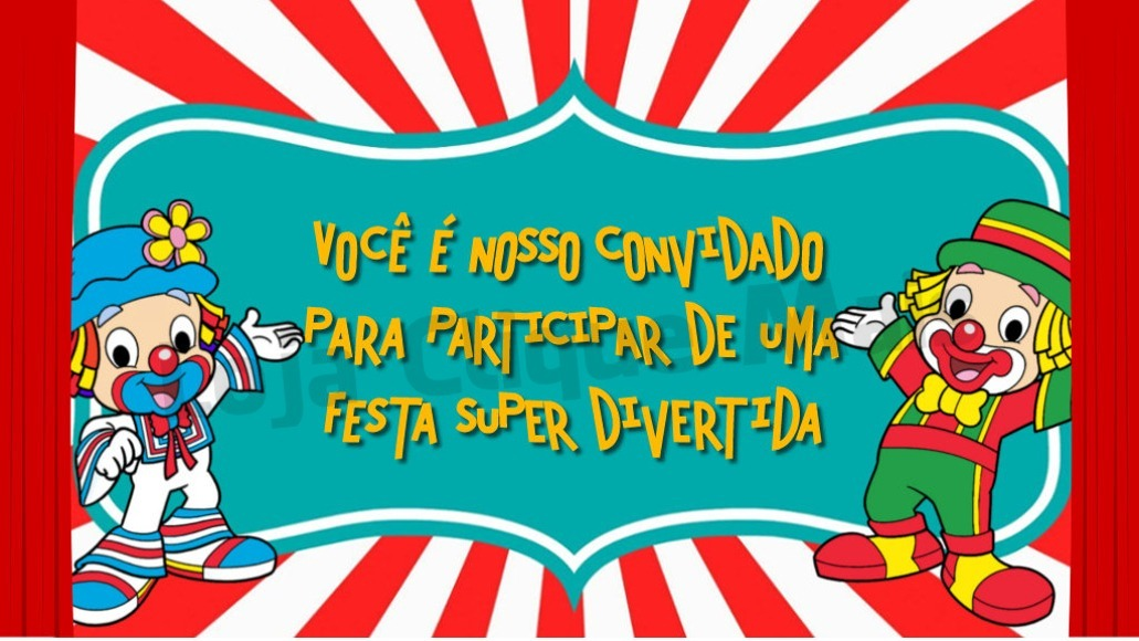 Convite Animado Aniversário Infantil Patati Patata 1 Foto R 19