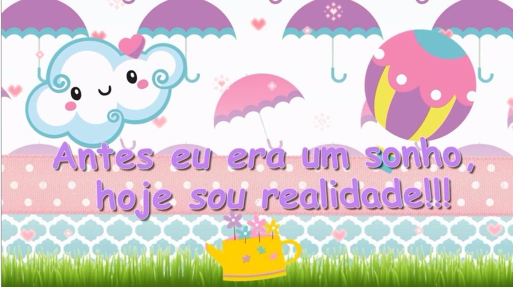 Convite Animado Virtual Chuva De Amor Chuva De Bênçãos R 2500